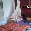 Palletwood Nursery Bed