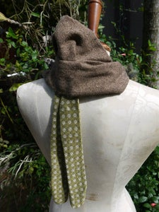 Recycled Fun Fox Stole