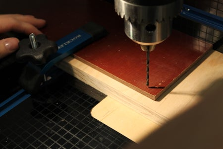 Off to the Drill Press