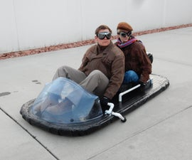 Real Hoverboard Hovercraft
