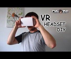 HOMEMADE VR HEADSET USING HOUSEHOLD ITEMS