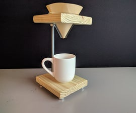 Simple Pour Over Coffee Stand