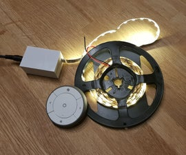 Zigbee LED Strip Dimmer (IKEA Trådfri Hack)