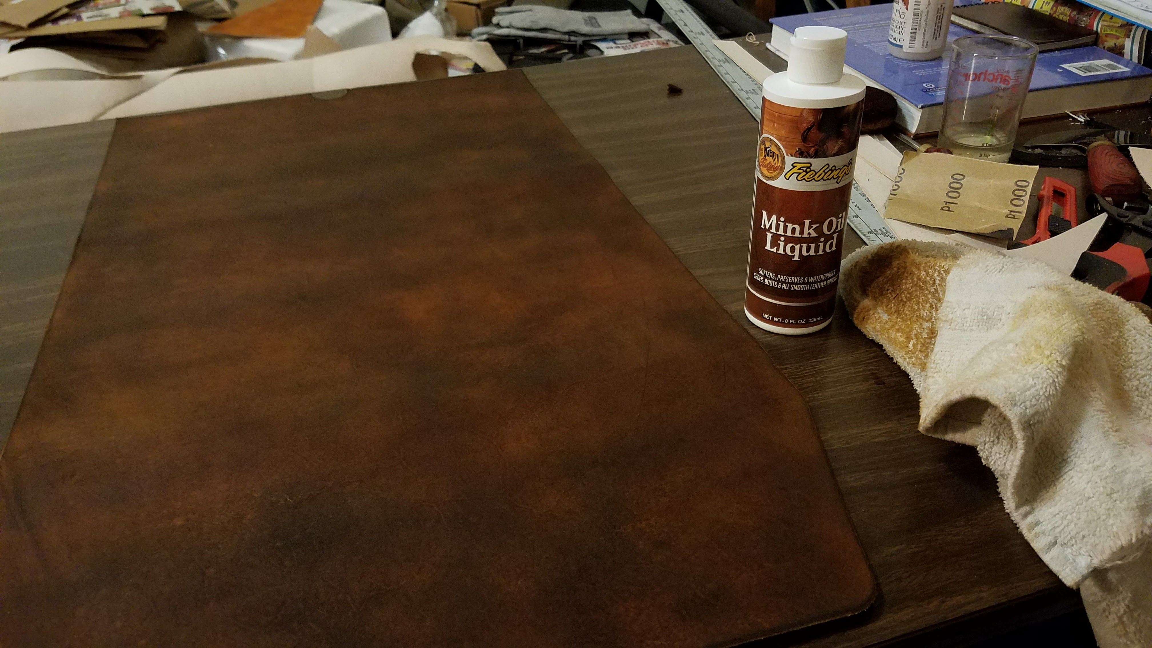 Picture of Condition the Leather