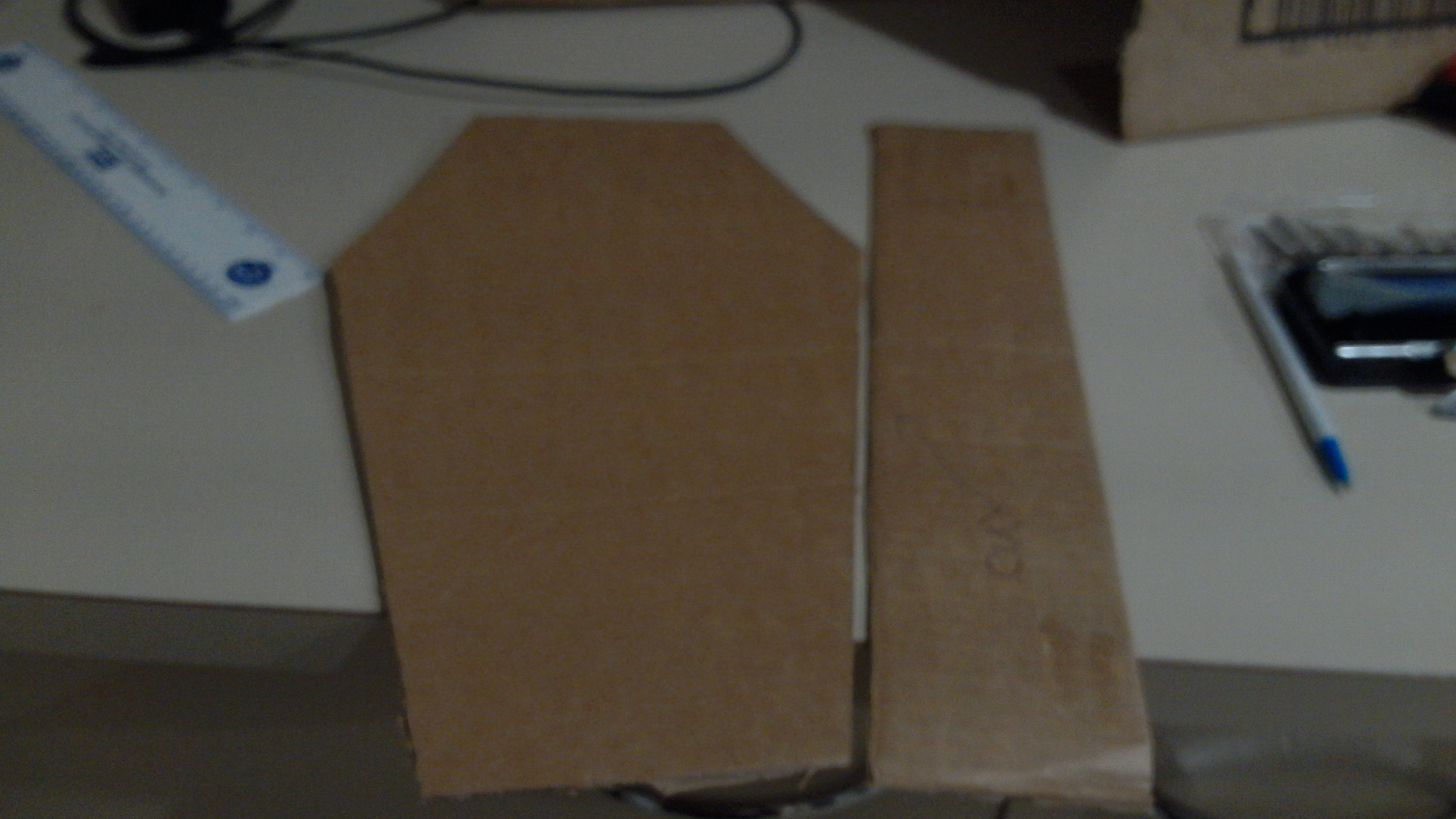 Picture of  Now Measure the Sides for Creases