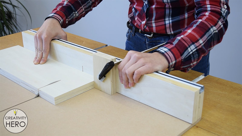 Picture of Adding a Blade Guard for Safety.