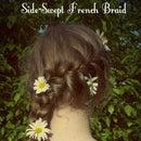 Summer Side-Swept French Braid