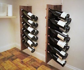 Fast & Easy & Cheap Wine Storage