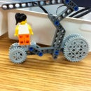 Wheels challenge entry: (HELS) Highly Experimental Lego Skateboard