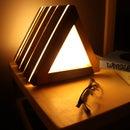 Bedside Table LED Lamp & Book Holder