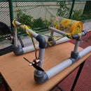 PVC Pipe RC boat