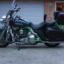 Harley Davidson Road King saddlebag latch repair