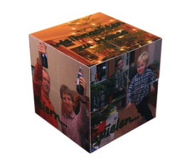 Magic Folding Photo Cube