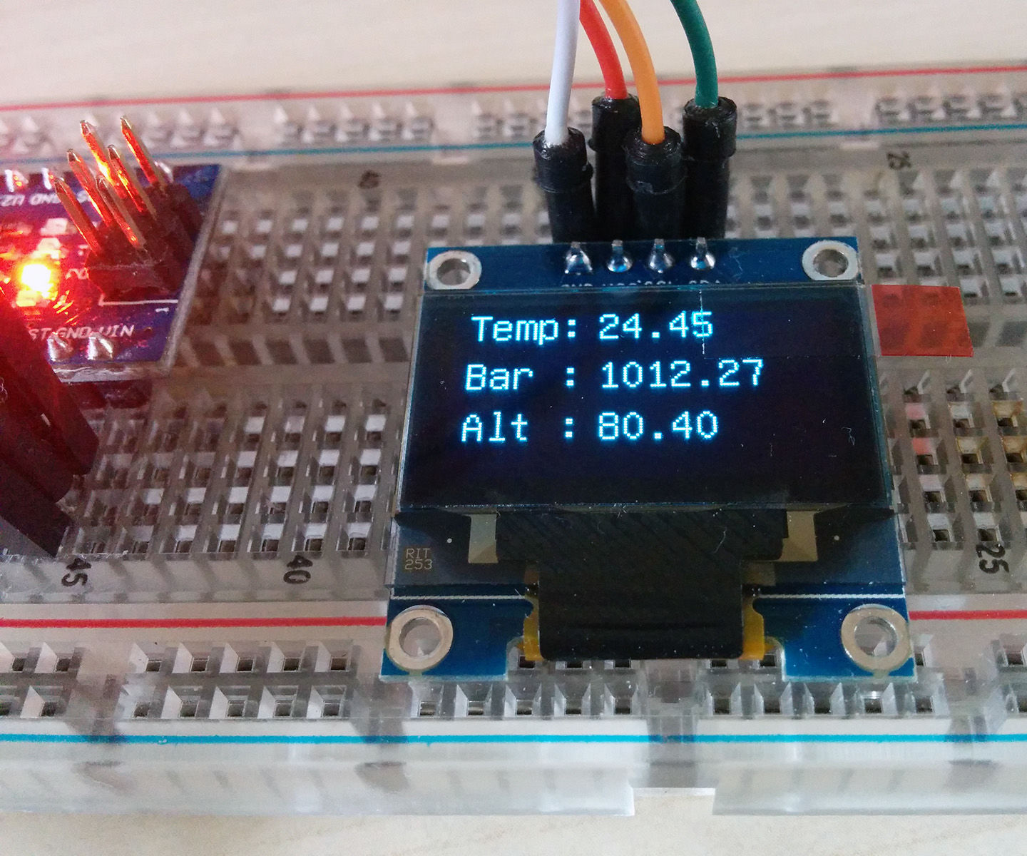 Standalone Arduino Altimeter: 3 Steps