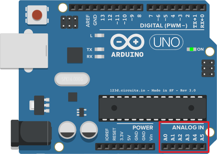Picture of Arduino Tutorial - Analog Input - Resistive Sensors - Monitor Serial