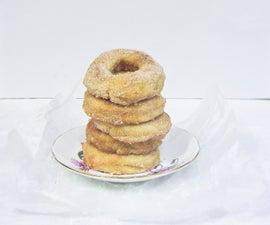 Baked Cinnamon Vanilla Donuts (plus a DIY donut pan)