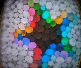 Rainbow Shadow Museum Display