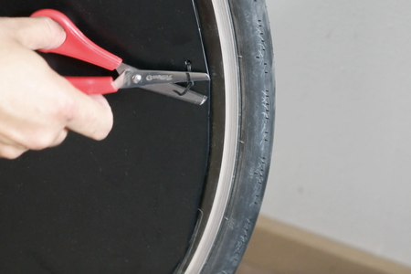 Mount the Disc Cover on the Wheel
