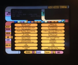 Build A Star Trek (LCARS) Themed Jukebox, and More