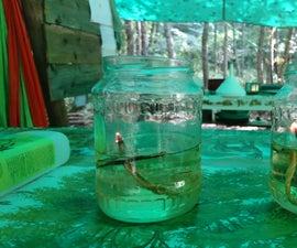 DIY Camp Oil Lamp