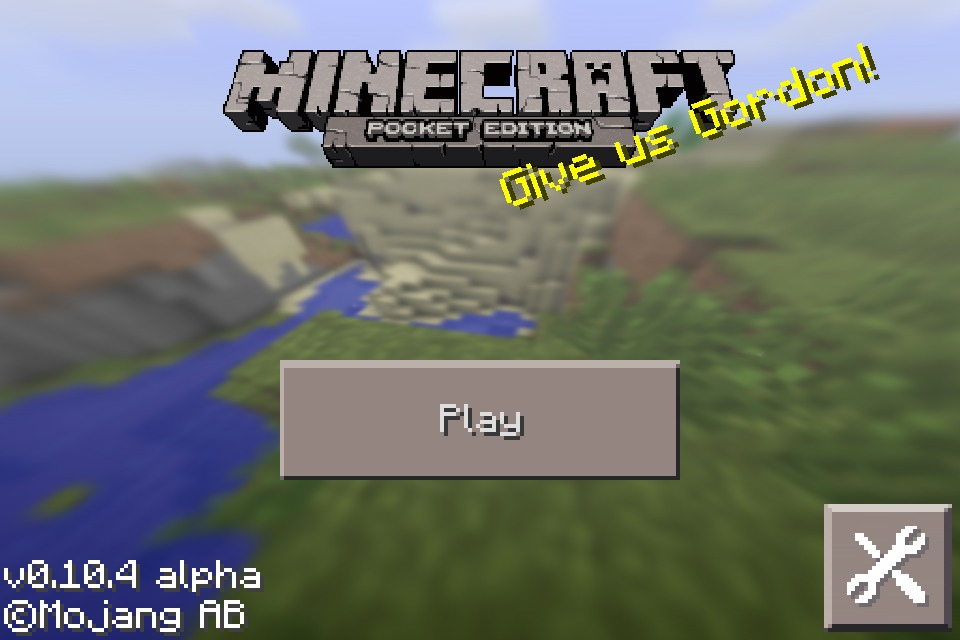 Picture of Open Minecraft