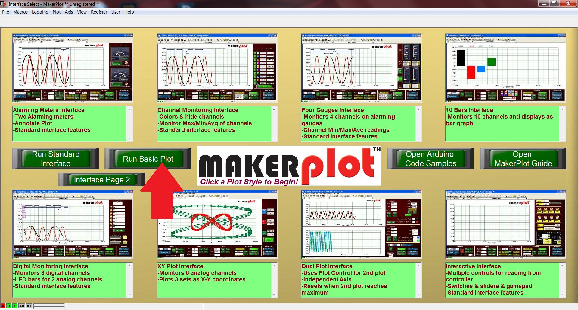 Picture of Start MakerPlot