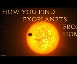 How to Find Exoplanets From Home