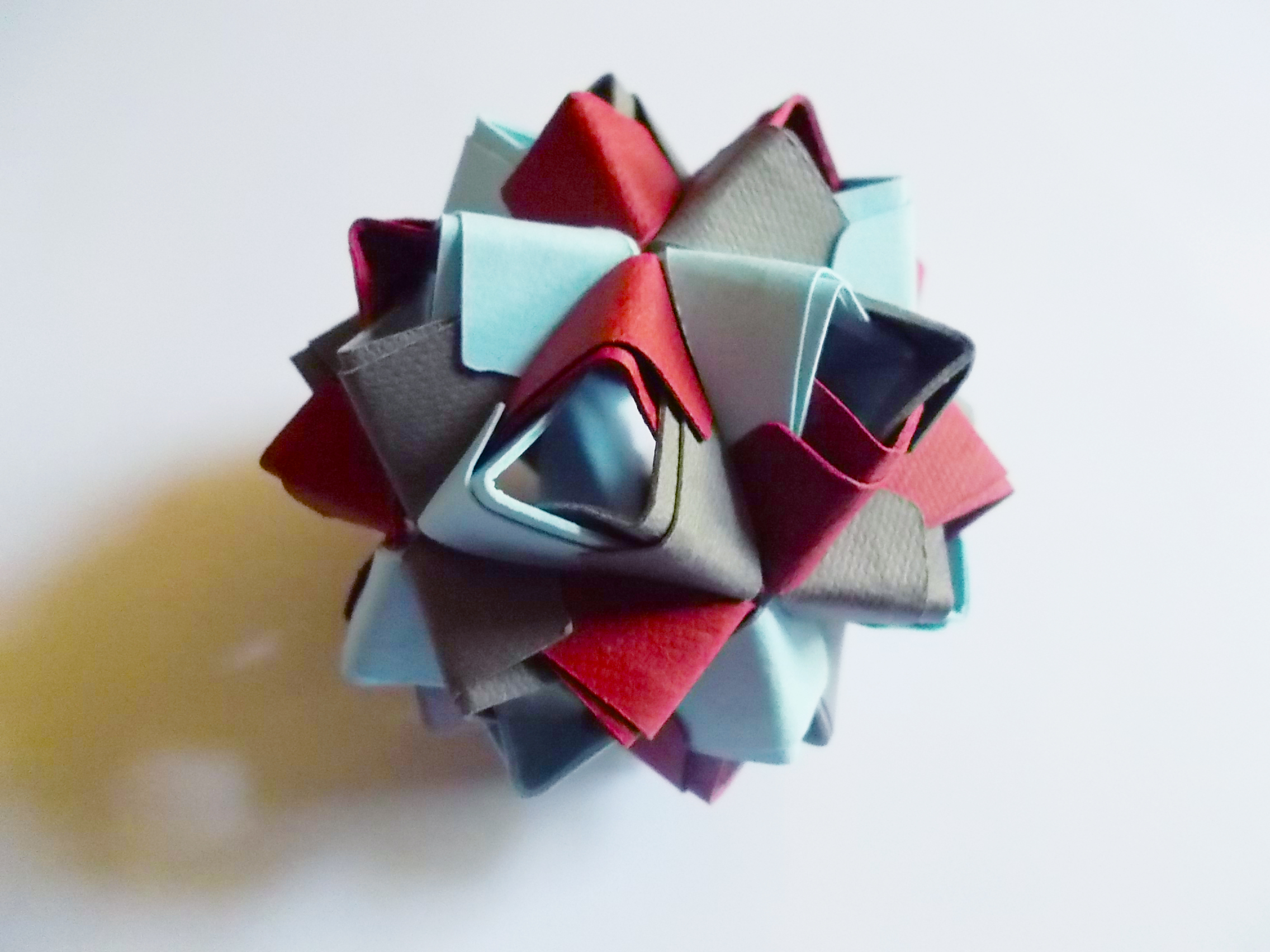 Picture of Sturdy Kusudama for the Origami-Impaired