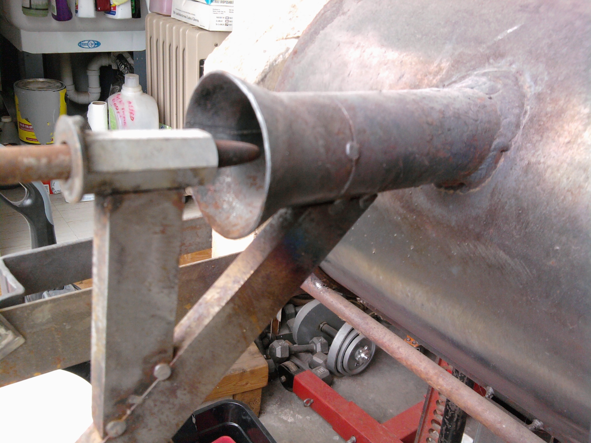 Picture of Adding a Spark Plug to My Forge