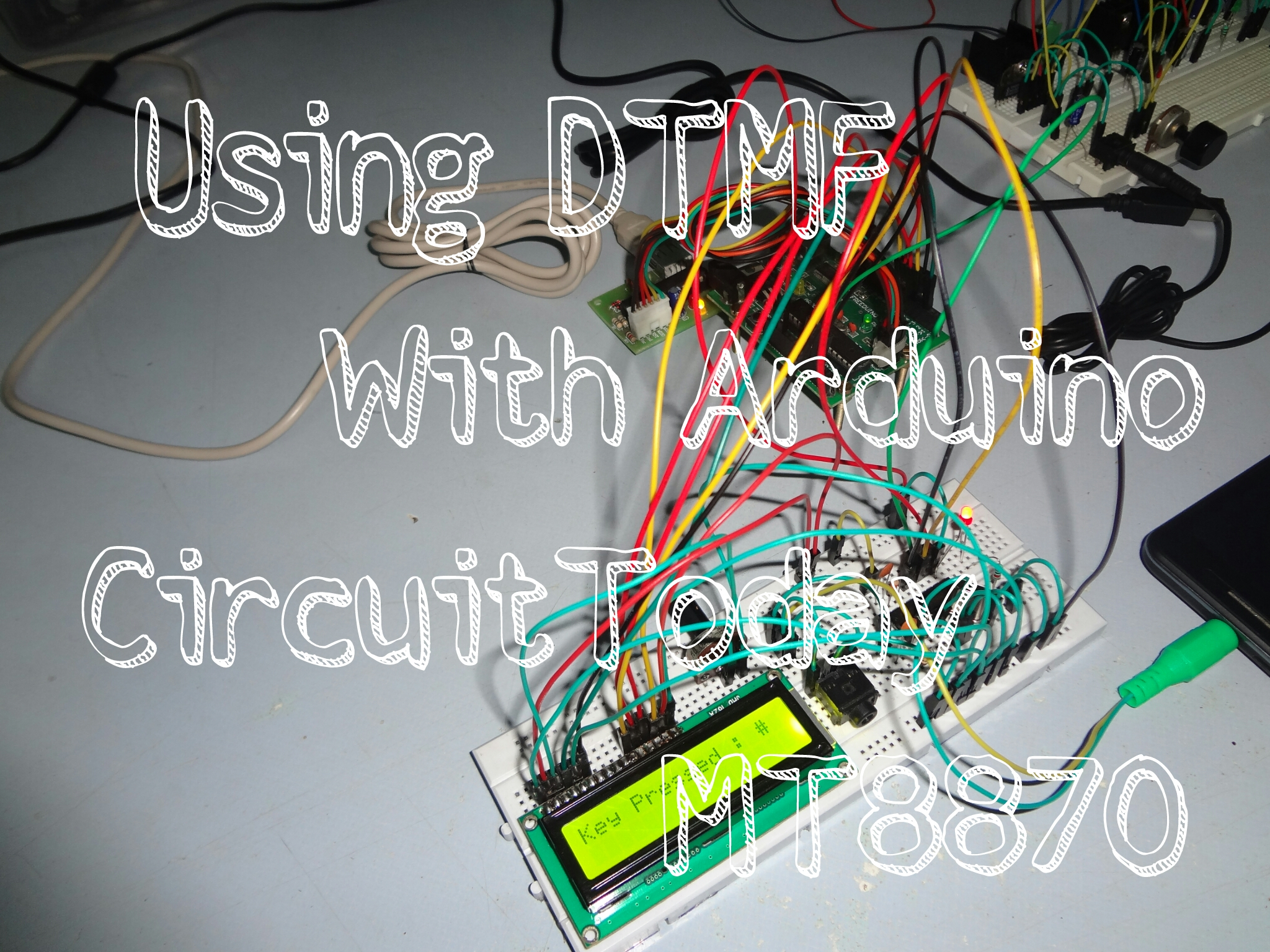 Using MT8870 DTMF Decoder With Arduino : 6 Steps