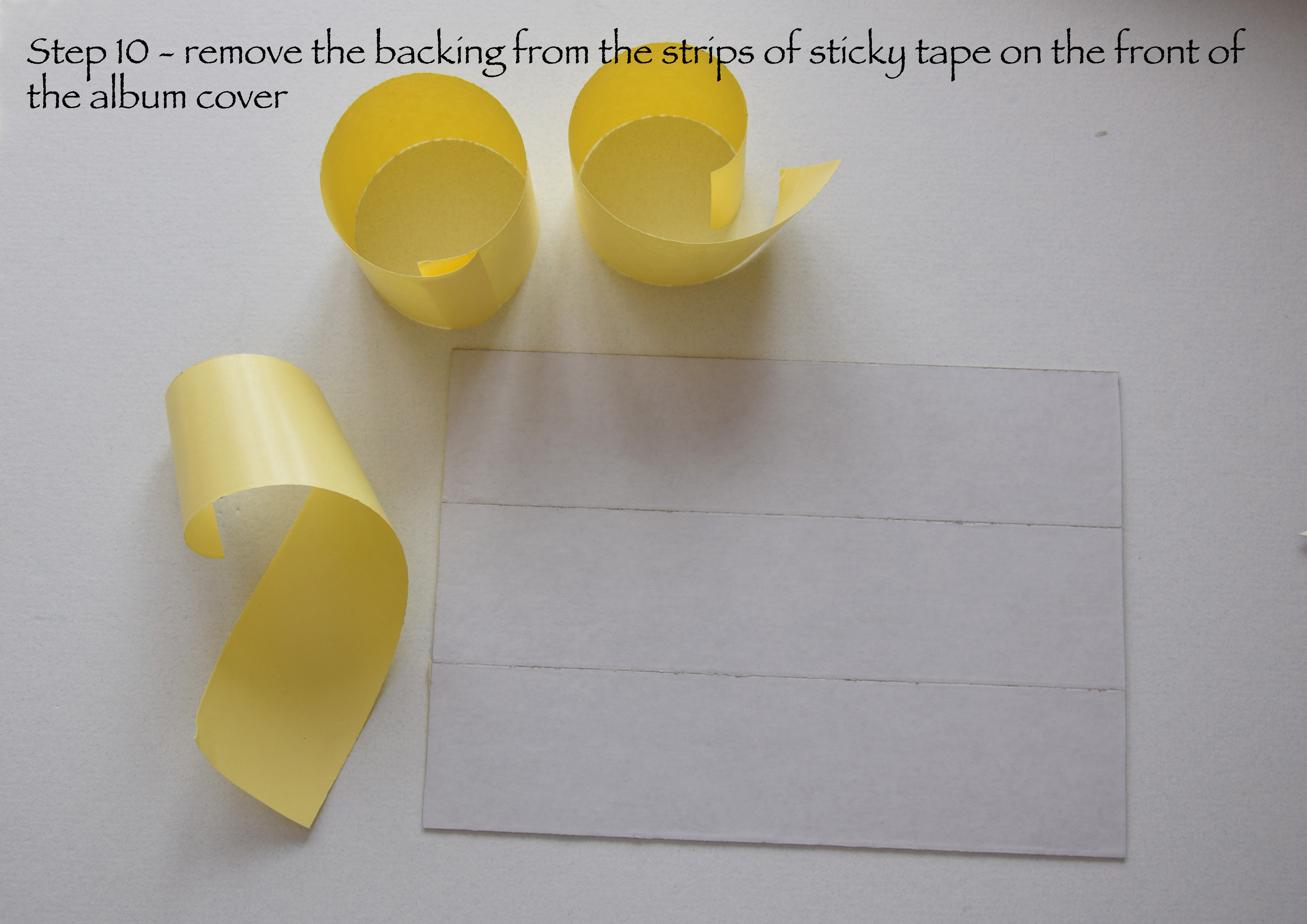 Picture of Remove Tape Backing