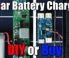 DIY Solar Battery Charger (LiPo/Li-Ion)