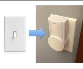 RF Outlet to Light Switch Hack