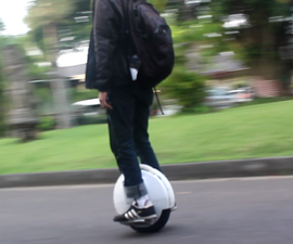 DIY Self-Balancing One Wheel Vehicle