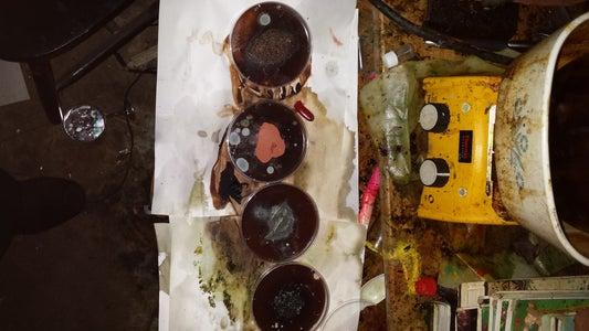 Results for Part 2 (SIlver Oxide-Copper, Copper, Zinc and Cobalt, Etc