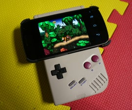 Game Boy Android Gamepad