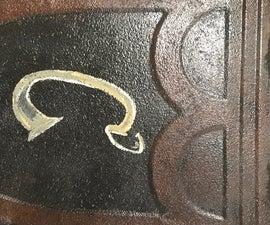 Rustic Reclaimed Tin Monograms