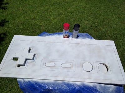 ​Apply Primer to the Buttons and the Controller Face
