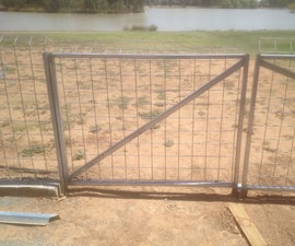 Construct a gate frame