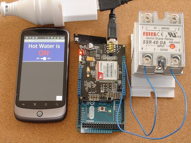 Picture of Reliable, Secure, Customizable SMS Remote Control (Arduino/pfodApp) - No Coding Required