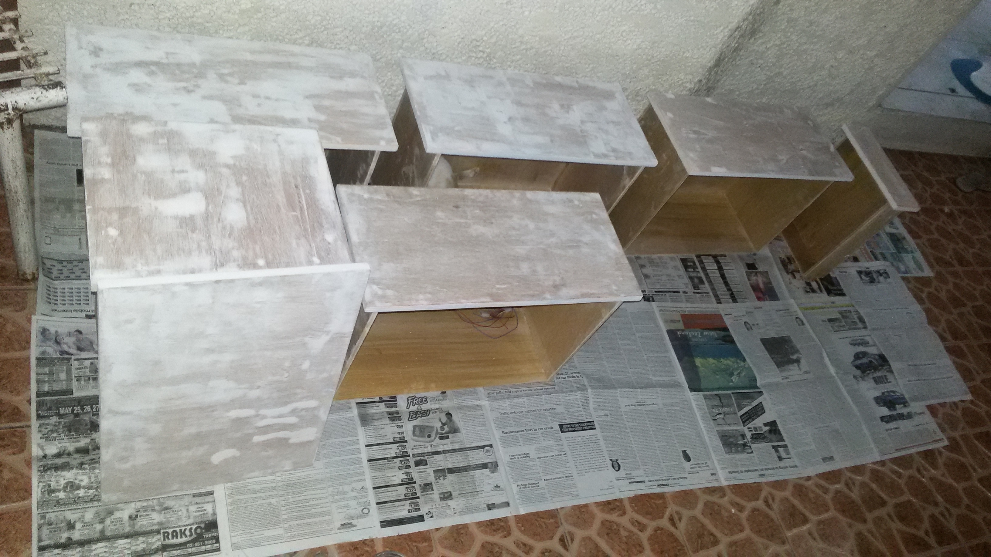 Picture of Sanding and Filling