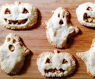 Halloween Apple Pies