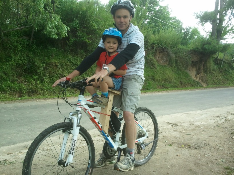 Picture of TIMBER CHILD'S BIKE / BICYCLE SEAT