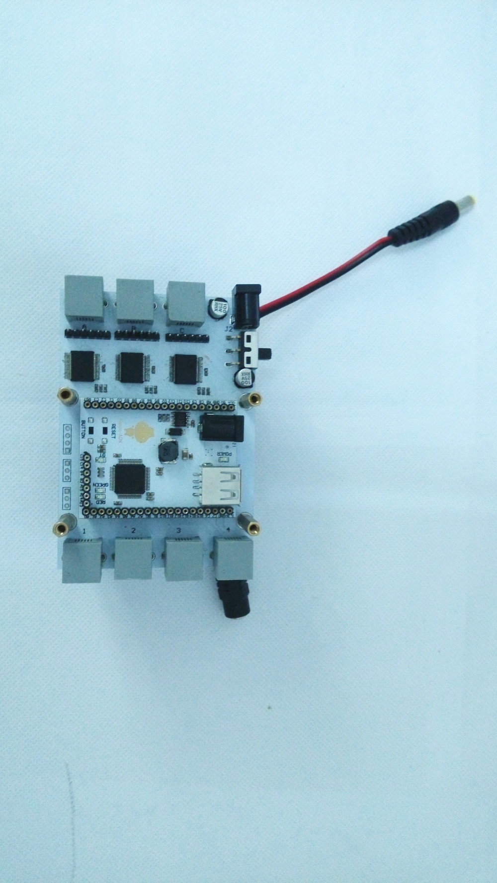 Picture of Add ADK Parts and Battery to the Robot