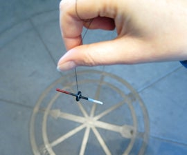 Hanging Magnet Compass