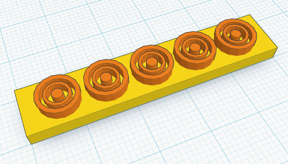 Picture of Use Smart Duplicate to Pattern Your Rings