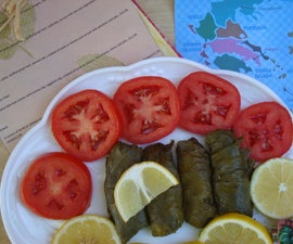 Stuffed Grape Leaves or Dolmades