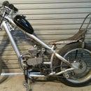 66 cc chopper build