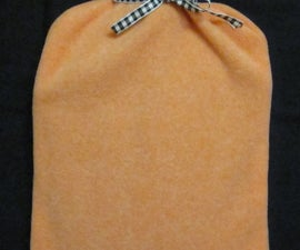 How to Sew a Hot Water Bottle Cover
