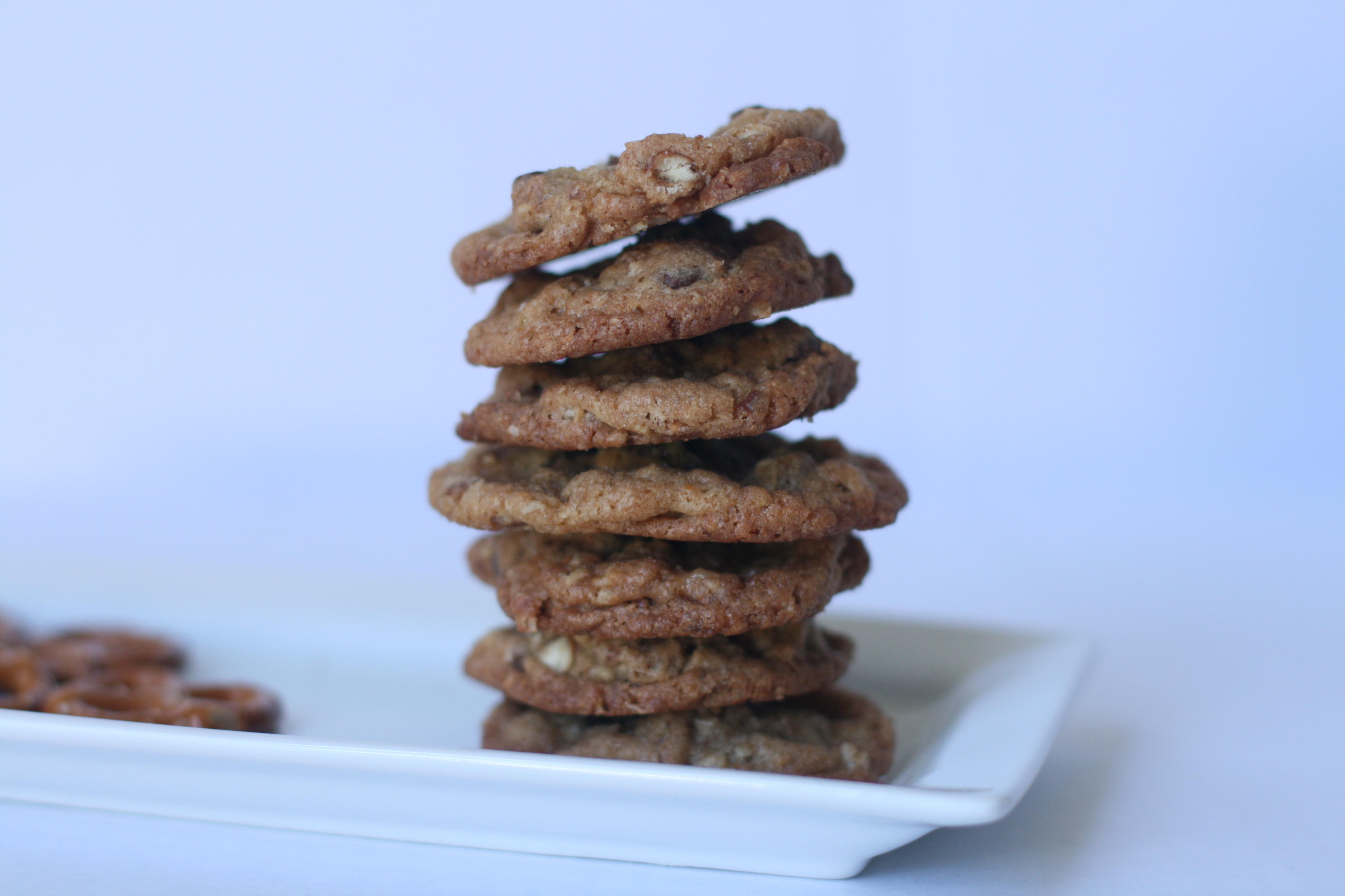 Picture of Pretzel Toffee Cookies